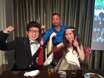 結婚おめでとう~