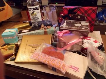 今年も沢山のチョコレート頂き、ありがとうございます。