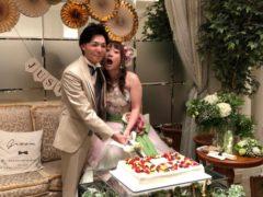 従弟の結婚式へ byヒロコ