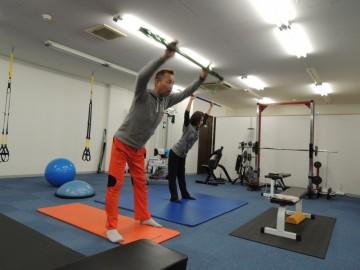 女性トレーニング風景