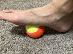 テニスボールで筋膜リリース byヒロコ