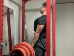 背中のトレーニング by石田