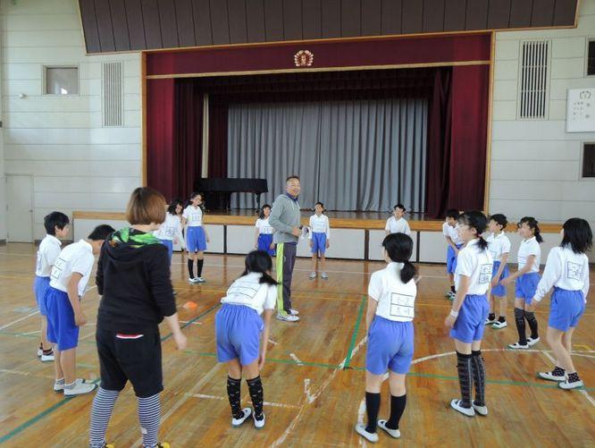 小学校6年生の体力測定