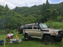 連休中は山遊び okamoto