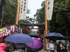 白山神社のお祭りへ  okamoto