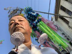 安城七夕祭りにふらっと  okamoto