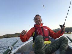 ワカサギ釣りに行って来ました。okamoto