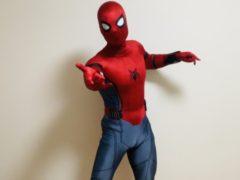 スパイダーマンになってみました by石田