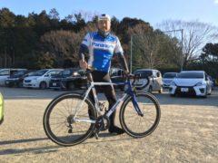 ロードバイクレースに参戦 okamoto