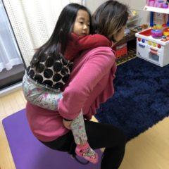 子供と一緒にトレーニング byヒロコ