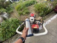 畑の耕し作業   okamoto