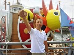 「海賊王に 俺はなる!」 by 岡本