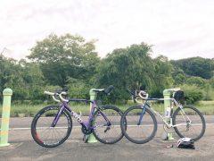 朝練、水源公園まで  okamoto