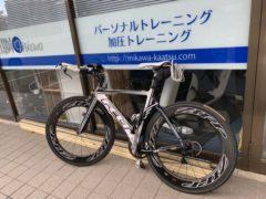 スタジオアイプラス ロードバイク練習  okamoto